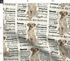 Dog Animal Pet Labrador Labrador Retriever Yellow Spoonflower Fabric By The Yard
