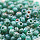 Pick Your Color - 10 Chunky Czech Seed Beads - One Strand 30grams