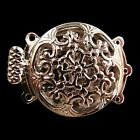 2510 Pcs 3 Strings Filigree Silver Plating Flower Box Clasps 22x32mm Findings