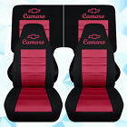 Fits 1982-1992 Chevrolet Camaro Front 4 Piece Rear Car Seat Covers Color Choice