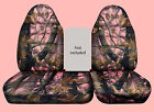 40-60 Seat Highback Camo Car Seat Covers Fits 96-0 Ford F150 No Console Cover