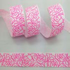 New 1 5 10 Yards 1 25mm Printed Christmas Grosgrain Ribbon Hair Bow Diy Sewing