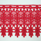 4.75 Wide 19 Colors Floral Venice Lace Trim Guipure Ribbon Trimming By Yardage