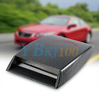 Universal Car Decorative Air Flow Intake Scoop Bonnet Vent Sticker Cover Hood