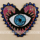 110pcs Cartoon Iron On Patches Embroidered Fabric Diy Applique Craft Sewing
