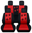 2010-2018 Jeep Paw Prints Frontback Car Seat Covers To Fit Compass Patriot