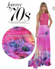 Designer 100 Pure Silk Chiffon With Floral Print 53 Width S254