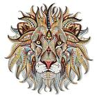 Large Mosaic Lion Patch Iron On Heat Transfer Patch. Applique Diy Craft.costume