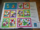 Book Cut Sew Cartoon Panel Cotton Quilt Fabric U-pick See Listing For Details