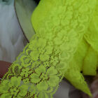 2yds Elastic Lace Trim Stretch Guipure Lace Ribbon Headband Skirt 2.16 Width