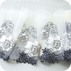 2yds Gauze Embroidered Lace Trim Vintage Fabric Ribbon Sewing Craft 5.91 Width