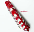 Knitting Needle Case Holder Storage Bag Pouch. Extra Long. Gift For Knitter.