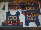 Clothing Accessories Child Adult Panel Cotton Quilt Fabric U-pick Read For Info
