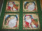 Christmas Holiday Winter Pillow Panel Cotton Quilt Fabric U-pick Read For Info