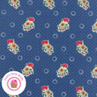 Moda Provencal 21732 41 Blue Floral American Jane Quilt Fabric French