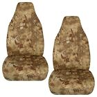 Designcovers Fits 1991-2018 Ford Ranger Car Seat Covers 60-40 Kryptek Camo Tan