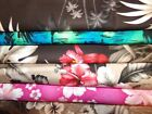 Hawaiian Hibiscus Hula Cotton Quilt Fabric U-pick See Listing For Details Bty
