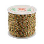 0.8mm X 45m Diy Waxed Cotton Cord Wire Thread Macrame Beading String Jewelry Ca