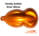 Candy Amber Gallon With Gallon Reducer Candy Midcoat Only Car Auto Paint Kit
