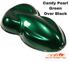 Candy Pearl Green Over Black Basecoat Quart Car Vehicle Motorcycle Paint Kit