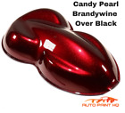 Candy Pearl Brandywine Over Black Basecoat Quart Car Motorcycle Paint Kit