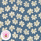 Moda Play All Day 21743 18 Blue Floral American Jane Quilt Fabric 1930s Repro