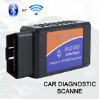 Elm327 Wifi Bluetooth Obd2 Car Diagnostic Scanner Code Reader For Android Pc
