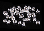 500pcs Round Crimp Bead Covers Copper Material End Tip Clamp Knot Findings 3mm
