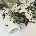 Film Sheet Scooter Sticker Digital Camouflage Printed Vinyl Wrapping Motorcycle