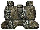 Designcovers Camo Woods Fits 05-15toyota Tacoma Front Bench W3headrests