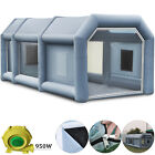 Inflatable Spray Booth Paint W Blowers Tent Car Paint Capacious Filter System