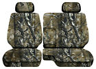 Camo Woods Car Seat Covers Fits 95-00toyota Tacoma Front Bench 60-40 Seats2hr