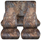 Full Set Frontrear Camo Reeds Car Seat Covers Fits 1989-1998 Geo Tracker