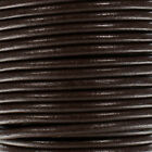 Round Leather Cord By Craft County - In 4mm 5mm 6mm Sizes - 6 Color Options