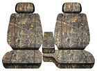 Car Seat Covers Camo Wetland Fits Toyota Tacoma 2001-2004 Front Bench 60-402hr