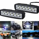 618w Spot Led Work Light Bar 8d Len Offroad Motorcycle Driving Fog Lamp 6000k