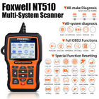 Foxwell Nt510 Elite Obd2 Scanner Full System Diagnostic Engine Abs Dpf Epb Reset
