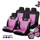 Universal Car Seat Covers Bluepink Butterfly Prints For Women Girls Car Truck
