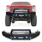 Fit 2007-2013 Chevy Silverado1500 Front Rear Bumper Wwinch Plate Led Lights