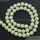 Top Czech Opaque Coated Glass Pearl Round Beads 4mm 6mm 8mm 10mm 12mm 14mm 16