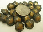 New Lots Of Military Metal Brass Star Buttons Sizes 1 Inch 1316 58 G1