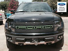 Ford Raptor F-150 Grill Letter W Outlines Stickers Decals- Ford Licensed 10-14