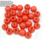 200pcs Round Wood Ball Spacer Loose Beads 4mm 6mm 8mm 10mm 12mm 14mm Wholesale