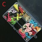 Cute Resin Flatback Cabochon Beads Bow Clip Diy Craft Kit Supplies In Box