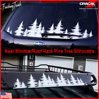 Pine Tree Forest Custom Vinyl Decal Window Graphic Sticker Mountains Coast Pnw