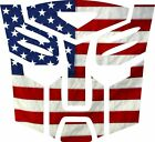 Usa Flag Transformer Autobot Window Decal- Various Sizes Free Shipping