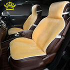 2 Front Car Seat Covers Faux Fur Cute Car Interior Accessories Cushion Cover Sty