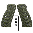 Slim G10 Gun Grips For Cz 75 85 Compact Free Screws Ops Texture Coolhand H6c-j1