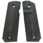 Coolhand 1911 Full Size G10 Gun Grips Ambi Safety Cut Sunburst Texture H1-j6