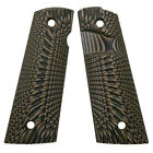 Coolhand 1911 Full Size G10 Gun Grips Magwell Mag Release Ambi Cut H1m-j6mb
